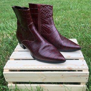 ❂ Animal Print Heeled Boots